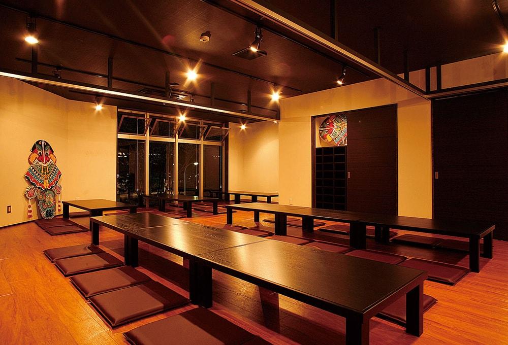 最大70名まで対応可能な宴会スペース。
